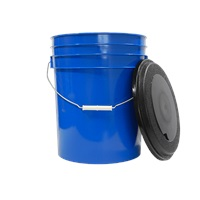 Blue 5 Gallon Bucket w/ Lid