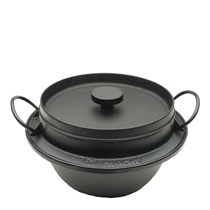 Cast Iron Rice Pot 3-Go