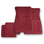 Carpet Floor Mats (Maroon)