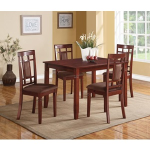 71164 CHERRY 5PC PK DINING SET