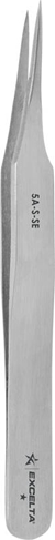 "Tweezer - *- Offset Tapered Ultra Fine - 4.5"" SS"