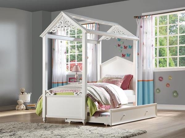 Acme Furniture 37350t Rapunzel Twin Loft Bed