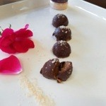 Chocolate Almond Bites with Pink Celtic Sea Salt