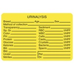 Urinalysis Labels