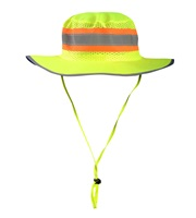 High Visibility Ranger Hat with Solid Top