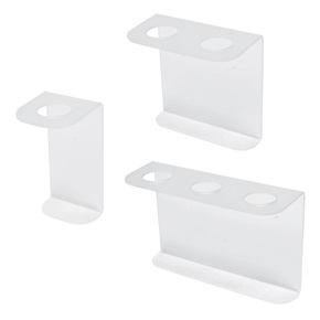 32oz Natural Boston Rd Dispenser Brackets, Frosted