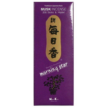 Morning Star Incense - Musk