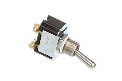 Toggle Switch - 1 Pole, 2 Position | On-None-Off | Bat Lever Actuator