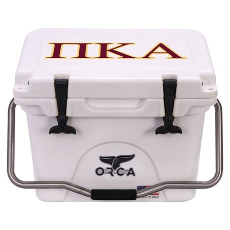 Pi Kappa Alpha White 20 Quart
