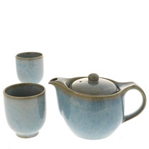 Tea Set Indigo Fog