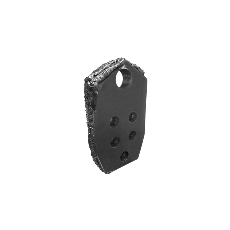 "Rubble Blade, Vermeer 5-Bolt- 3-1/2 wide   3/4"" Thick - 3/8""- 16"