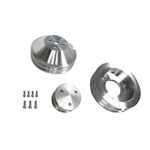 67-70 390-428 Billet Pulley Kit w/o AC