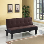 57028 CHOCOLATE ADJUSTABLE SOFA