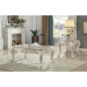 82440 COFFEE TABLE W/MARBLE TOP