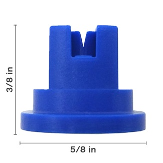 Polyacetal Blue 80° Nozzle Spacing
