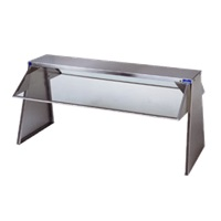 Duke Manufacturing 636-1SN Buffet Shelf & Breath Guards on Side without Lights
