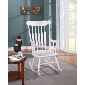59224 WHITE ROCKING CHAIR