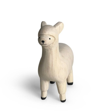 T-Lab Wooden Animal - Alpaca