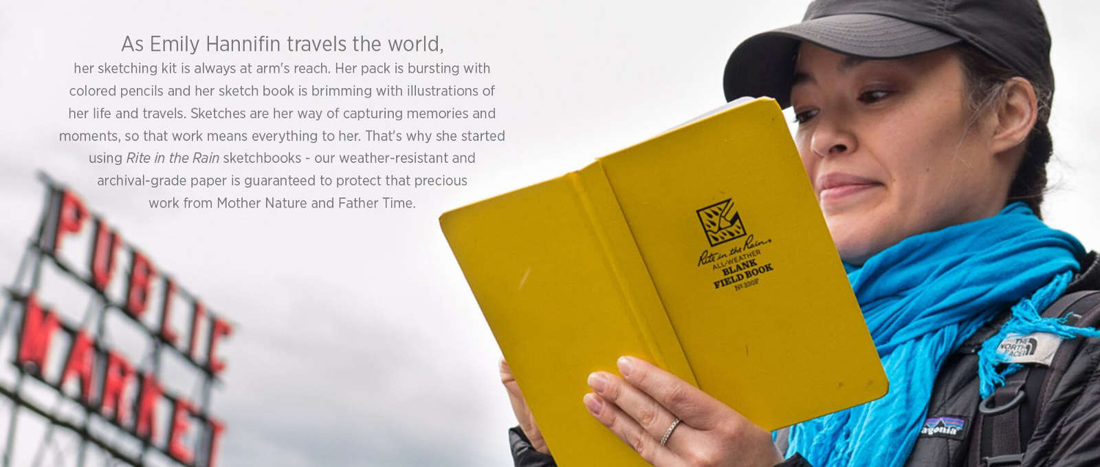 write rain sketchbooks loved by artist and travlers