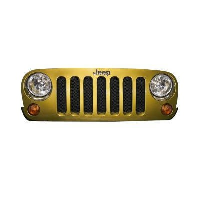 Jeep JK Mesh Grille - black