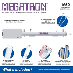 Megatron Manual M50 - Included Accessories
