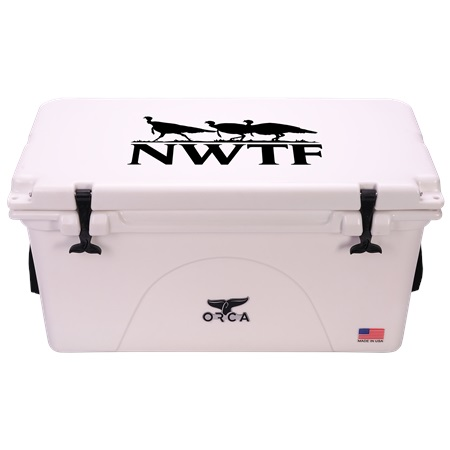 NRA White 75qt ORCA Cooler