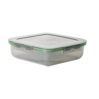 "MyGo™ Large Single Compartment Container, 9""x 9"" x 2.5"""