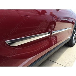 "2 1/4"" Tapered Beveled Chrome Body Side Molding"