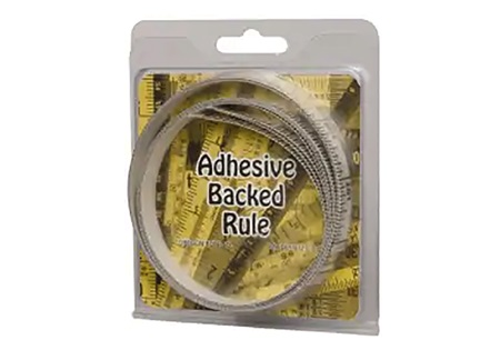 "9' Long X 1/2"" Wide Adhesive Tape Measure 