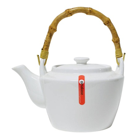 Teapot With Bamboo Handle - 40 Oz.