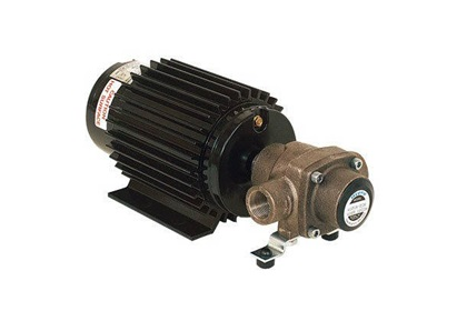Hypro 4101XL-EH Silvercast Roller Pump and Motor