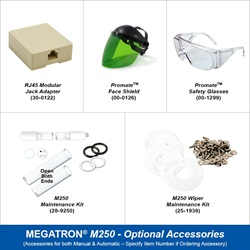 Megatron Manual M250 - Optional Accessories