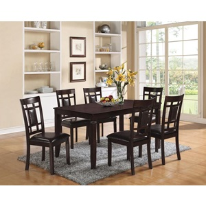 71955 ESPRESSO 7PC PACK DINING SET