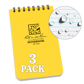 Top Spiral Notebook (3-pack)