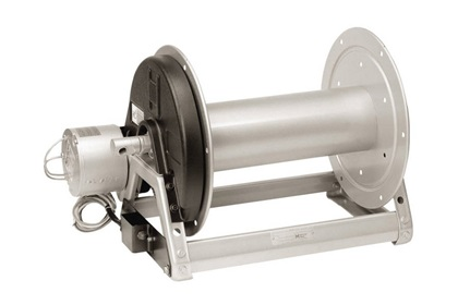 Hannay 1500 Series Electric Hose Reel With Engine & Pin Lock