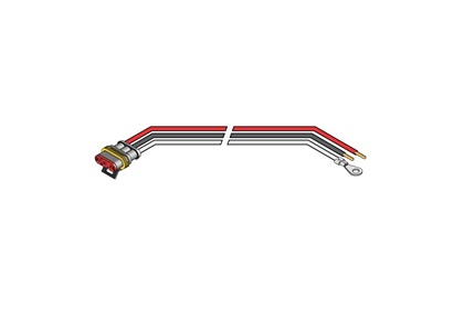 Primary Wire Connectors for Red LED Lamps