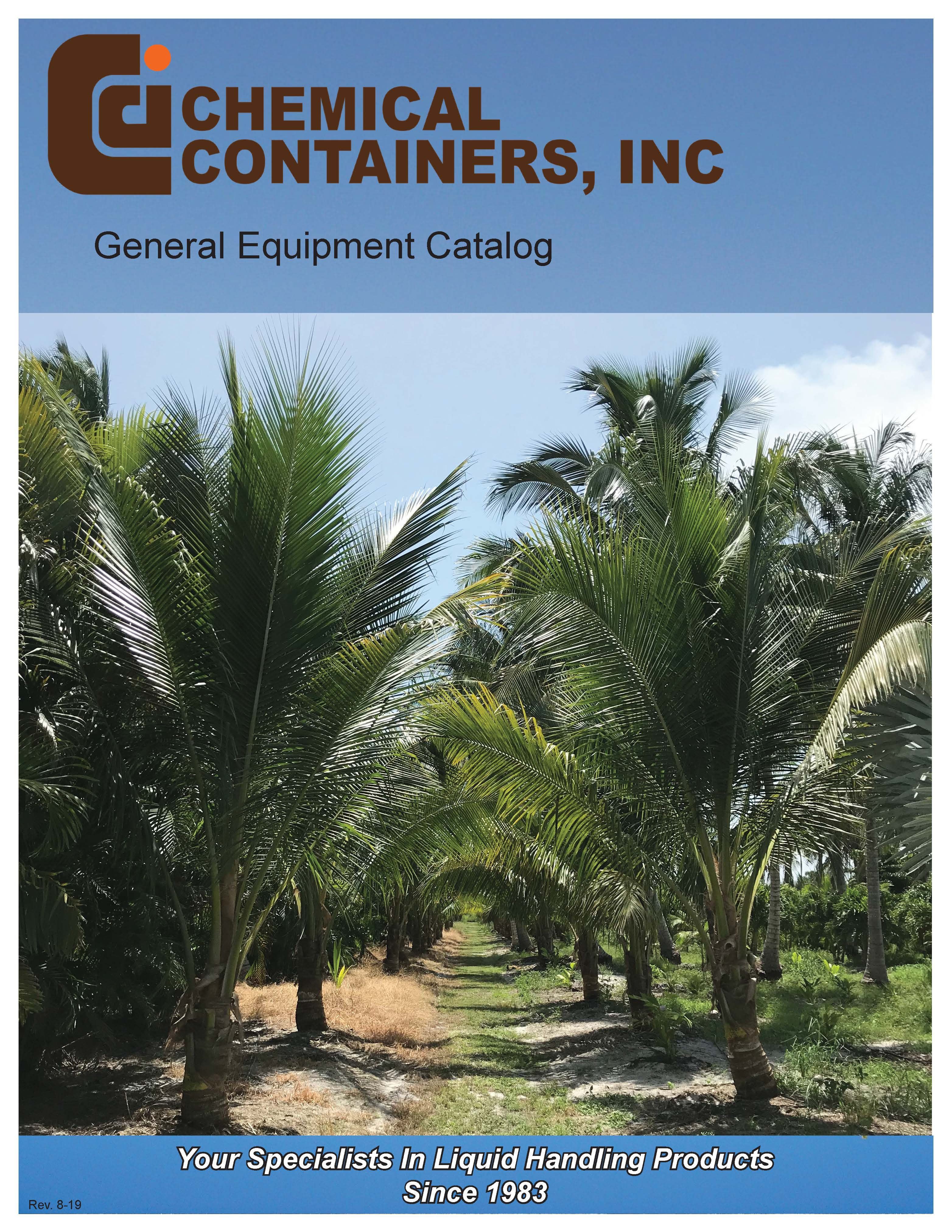 Chemical Containers 2019 Products Catalog