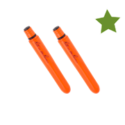 ORANGE PLASTIC POCKET PEN