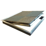 Fire-Rated Architectural 1/8 inch Pan Floor Door