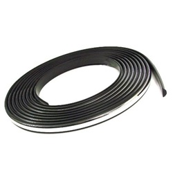 Window Weatherstrip Lockstrip - Chrome