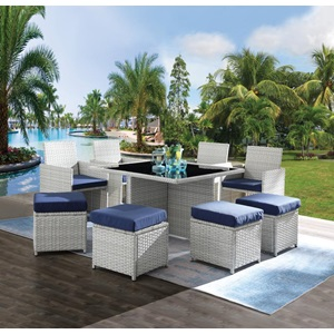 45075 Paitalyi 9Pc Patio Set