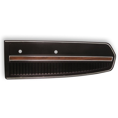 1968 Deluxe Door Panels (Black)
