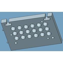 Bottom Electrode Mounting Plate