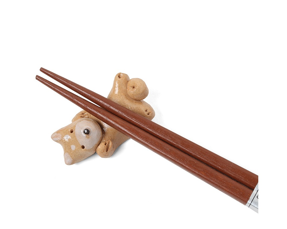Chopstick Rest Dog Belly 2""