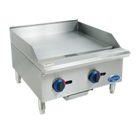 Globe C24GG Chefmate Griddle Countertop