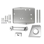 67-70 Restomod Billet Aluminum Battery Tray Kit
