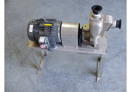 "2"" Chemical Pump, Motor, & Stand Kits"