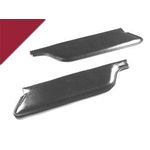 66 Convertible Sun Visors (Dark Red)