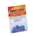 WIRE CONNECTOR: DRYCONN - AQUA / RED - WIRE #22-8 (5/BAG)