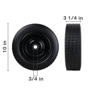 "10"" Tire & Wheel Assembly"